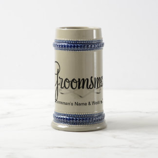 Groomsman Wedding Gift Beer Stein