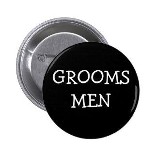 Groomsmen Pinback Button