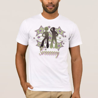 Grooooovy - American Apparel T-Shirt (Fitted)