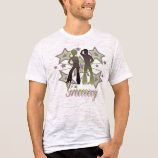 Grooooovy - Burnout T-Shirt (Fitted)