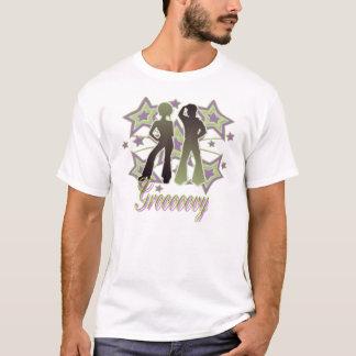 Grooooovy - Melange Ringer T-Shirt