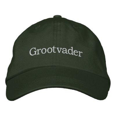 Grootvader Embroidered Hat