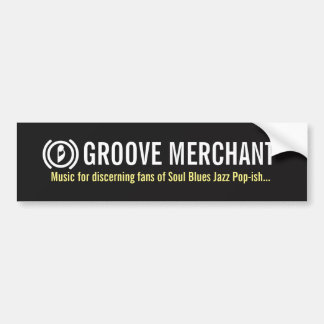 "Groove Merchant Band ""ish"" Bumper Sticker"