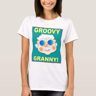 Groovey Granny Cartoon T-Shirt