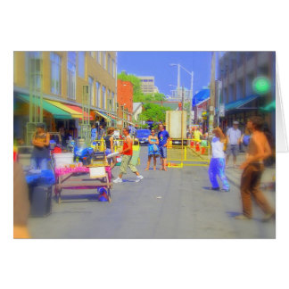 Groovin' in the streets card