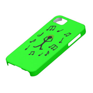 grooving stick man iPhone 5 cases