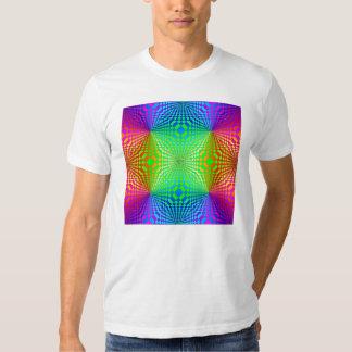 Groovy 3-D Retro Pattern Tshirt