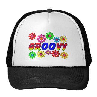 Groovy 70's Retro Flower Power Gifts Trucker Hats