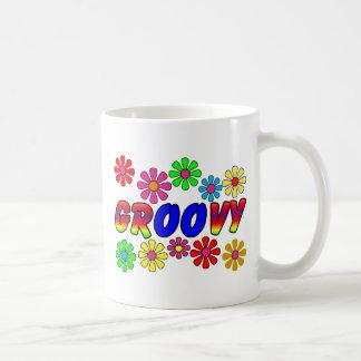 Groovy 70's Retro Flower Power Gifts Mug