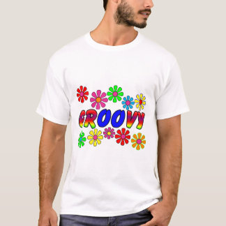 Groovy 70's Retro Flower Power Gifts T-Shirt
