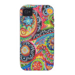 Groovy Abstract iPhone 4/4S Vibe Case-Mate Case