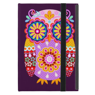 Groovy Abstract Owl iPad Mini Case with Kickstand