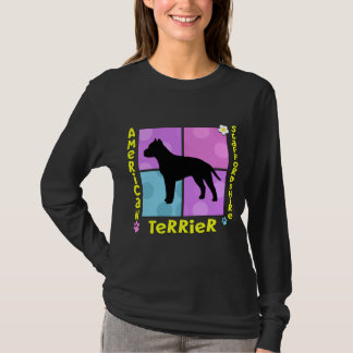 Groovy American Staffordshire Terrier T-Shirt
