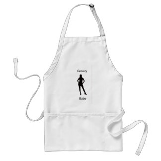 Groovy babe aprons