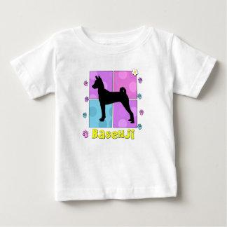 Groovy Basenji Baby T-Shirt