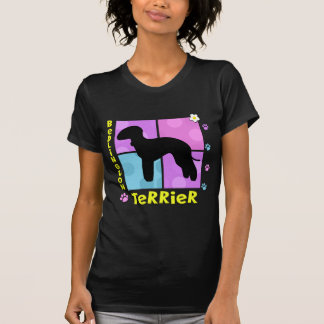 Groovy Bedlington Terrier T-Shirt