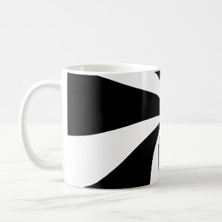 Groovy Black and White mug