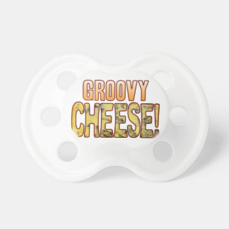 Groovy Blue Cheese Baby Pacifier