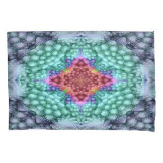 Groovy Blue  Vintage Kaleidoscope    Pillowcases
