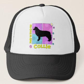 Groovy Border Collie Trucker Hat