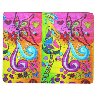 groovy butterfly pocket journal
