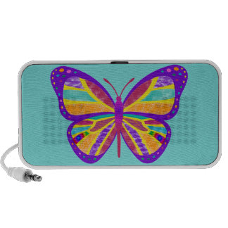 Groovy Butterfly Speaker System