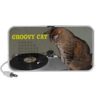 Groovy Cat Doodle Speaker