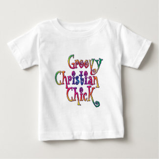 Groovy Christian Chick Baby T-Shirt