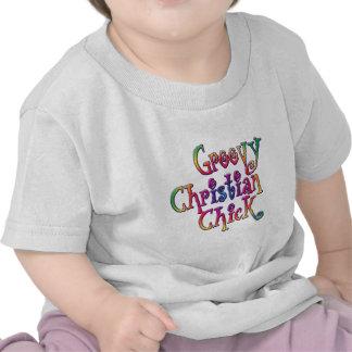 Groovy Christian Chick Tshirt
