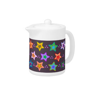 Groovy Colorful Rainbow Stars