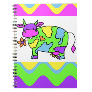 Groovy Cow Notebooks