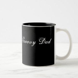 Groovy Dad Two-Tone Mug
