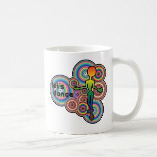 Groovy Dancing Duo Drinking Mug