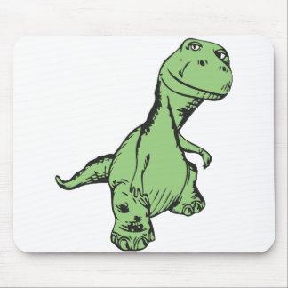 Groovy dinosaur mousepads