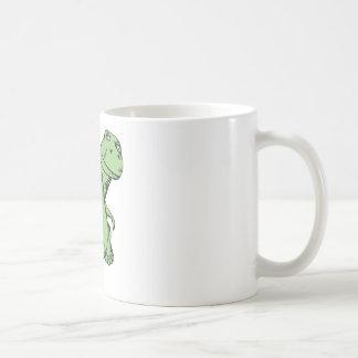 Groovy dinosaur mug