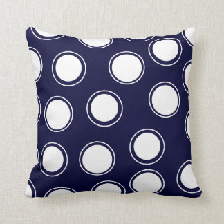Groovy Dots #5 @ SonoLeTre Throw Pillow
