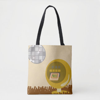 Groovy Eight Track Days Tote Bag