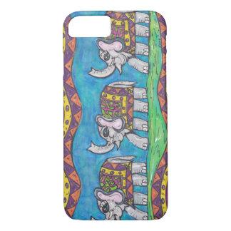 Groovy Elephant Parade iPhone 7 Case