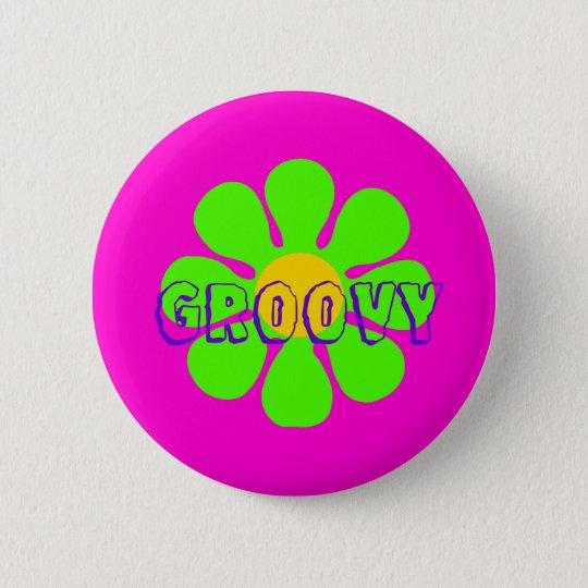 Groovy Flower Pin