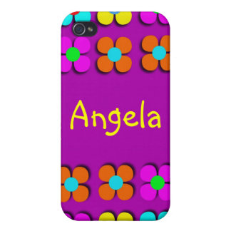 Groovy Flower Power iPhone4 Case Cases For iPhone 4