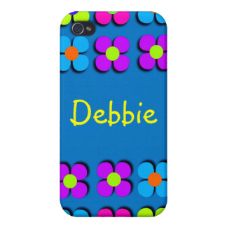 Groovy Flower Power iPhone4 Case iPhone 4/4S Cases