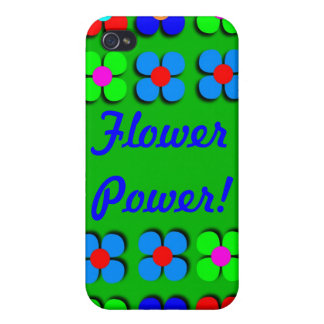 Groovy Flower Power iPhone4 Case iPhone 4/4S Covers