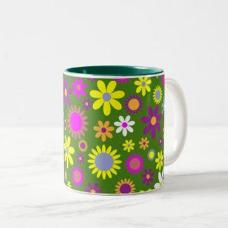 Groovy Flowers Coffee Mug