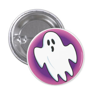 Groovy Ghost Button