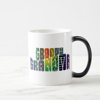Groovy Grandma Morphing Mug