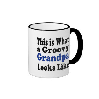 Groovy Grandpa Mugs