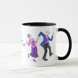 Groovy Grandparents Coffee Mug