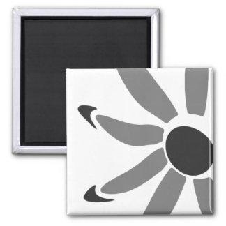 Groovy Graphic Bloom Fridge Magnets