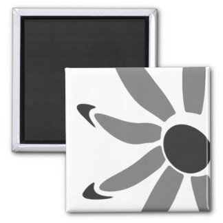 Groovy Graphic Bloom Fridge Magnets