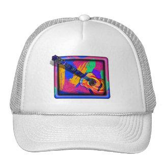 GROOVY GUITAR MESH HATS